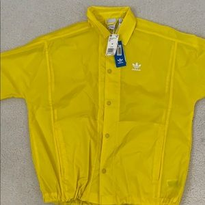 Adidas TrenchCoat Yellow